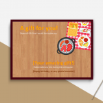 Holiday Gift Certificate Template (P-Image)