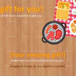Holiday Gift Certificate Template (Preview)