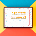 Printable Blank Gift Certificate Template (P-Image)