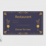 Dinner-for-Two-Certificate-Template