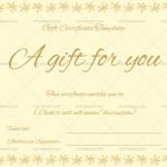 Gift-Certificate-(Flower-Border)—Gold