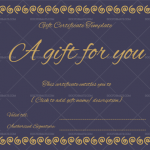 Gift Certificate (Ring Design) – Royal – Preview