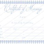 Blue-Bells-Marriage-Certificate-Template (Word)