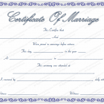 Marriage-Certificate-Template-with-Blue-Borders