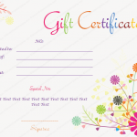 Splash-Flowers-Gift-Certificate-Template (make your own birthday certificate)