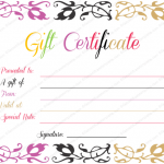 Spring-Splashes-Gift-Certificate-Template (Certificate Template PDF)
