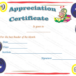18 Appreciation Certificate Template (School, Certificate of appreciation format)