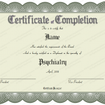 2 Certificate of Completion Template (Medical, Editable in Word)