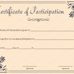 25 Award Certificate Template (Coral, Word Doc)