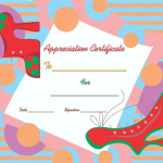 26 Appreciation Certificate Template (Good,Blank Template)