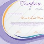 34 Award Certificate Template (Medical, Editable and Printable)