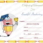 5 Award Certificate Template (Beautiful, editable certificate of appreciation)