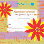 Appreciation Certificate Template (Best Mom, Certificate of appreciation format)