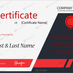Award Certificate (Corporate Award, Printable and Editable)