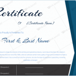 Award Certificate (Teamwork, Customize in Word)