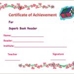 Best-Book Reader-Appreciation-Certificate (Printable Certificate of Achievement)
