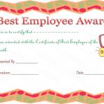 Best-Employee-Award-Certificate (Award Certificate Design)