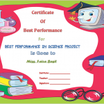 Best-Performance-Student-Award-Certificate (in WORD)