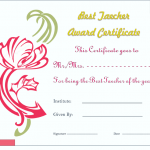 Best-Teacher-Award-Certificate-Template (Editable and Printable in Word)