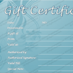 Blue-Carved-Gift-Certificate-Template