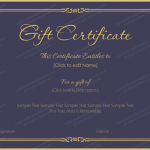 Blue-Gold-Gift-Certificate (Word Format)
