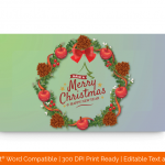 Christmas-Bouquet-and-Happy-New-Year-Certificate-Template-32