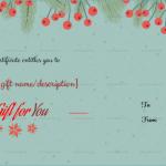 Christmas-Fir-Cherries-Gift-Certificate-(Green,-99)