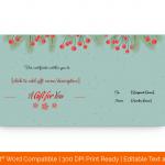 Christmas-Fir-Cherries-Gift-Certificate-Template-(Green,-99)
