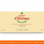 Christmas-Gift-Certificate-Template-(Leaves,-#18333)