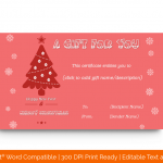 Christmas-Gift-Certificate-Template-(Pink-Tree,-#1863)