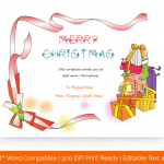 Christmas-Gift-Certificate-Template-(Red-Presents-,-99)