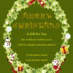 Christmas-Gift-Certificate-Template-(Round,-#18580)