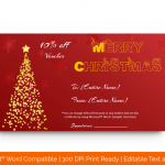 Christmas-Gift-Certificate-Template-(Stars,-#18861)