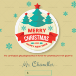 Christmas-Gift-Certificate-Turquoise-Snowflakes-(BRW,-Green)