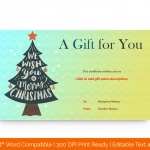 Christmas-Tree-Gift-Certificate-With-Ornaments-Template-(Greenish)
