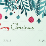 Christmas-Tree-with-Tinsels-Gift-Certificate-(87587)