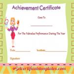 Fabulous Performance Achievement-Certificate (Editable award certificates)