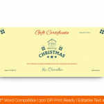 Family-Christmas-Gift-Certificate-Template-(Yellow,-Green)
