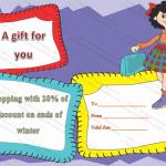 Girls-Shopping-Gift-Certificate-Template