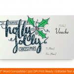 Holly-Jolly-Christmas-Gift-Voucher-Certificate-Template