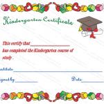 Kindergarten-Diploma-Certificate (Printable Award Certificate)
