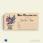 Love-Bird-Tattoo-Gift-Certificate-Template-(Word)
