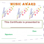 Music-Award-Certificate-Template (Editable and Printable in Word)
