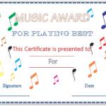Musical-Notes-Award-Certificate (Award Certificate Design)