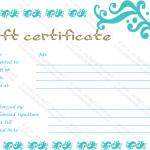 Printable-Aqua-Gift-Certificate-Template