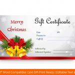 Printable-Christmas-Bells-Gift-Certificate-Template-(Red-bells,-#33)