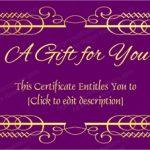 Purple-Gift-Voucher-Template (Voucher Design Template)