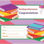Reading-Achievement-Award-Certificate (Modern Certificate Design in Word Format)