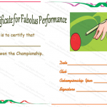 Snooker-Champ-Certificate-of-Appreciation-Template (Editable award certificates)