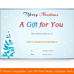Snow-Fall-Merry-Christmas-Gift-Certificate-Template-(Word,-88)